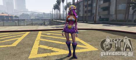 Miss Fortune League of Legends для GTA 5
