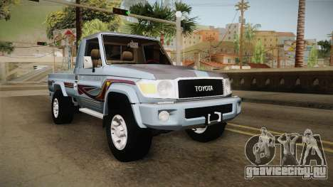 Toyota Land Cruiser (J79) 2016 для GTA San Andreas