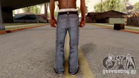 Beta Jeans Blurry для GTA San Andreas третий скриншот