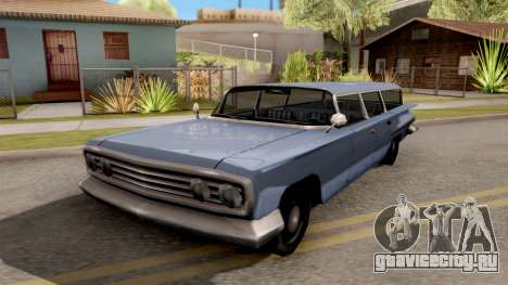 Voodoo Station Wagon для GTA San Andreas