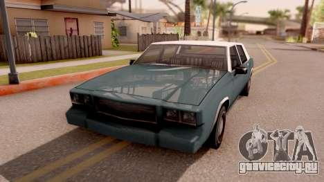 Tahoma Limited Edition для GTA San Andreas