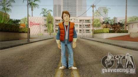 Marty McFly 1980 для GTA San Andreas