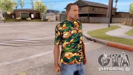 Рождественская футболка для GTA San Andreas второй скриншот