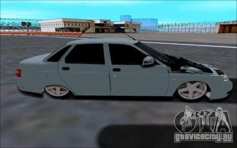Lada 2110 для GTA San Andreas вид слева