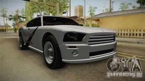 Bravado Buffalo 2009 SASP для GTA San Andreas