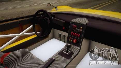 GTA 5 Hijak Ruston IVF для GTA San Andreas вид изнутри