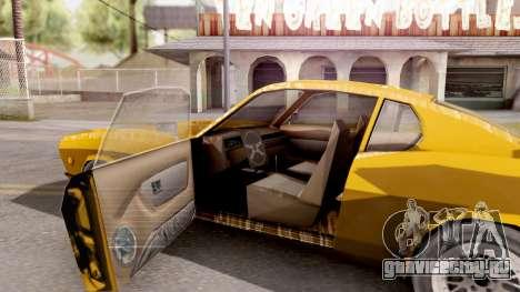Driver PL Brooklyn для GTA San Andreas вид изнутри