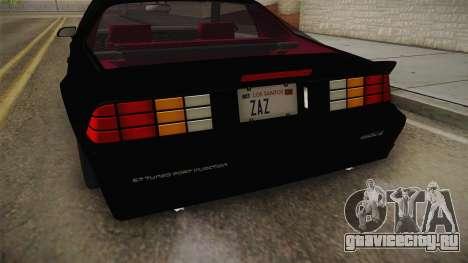 Chevrolet Camaro IROC-Z 1990 1.1.0 IVF для GTA San Andreas вид сбоку