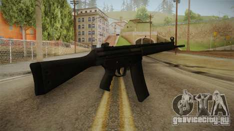 HK-33 Assault Rifle для GTA San Andreas второй скриншот