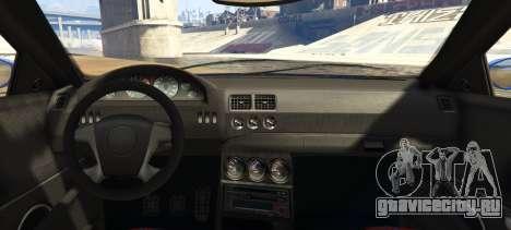 Ubermacht Sentinel Custom для GTA 5 вид сзади слева