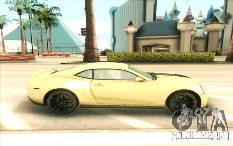 Chevrolet Camaro ZL1 для GTA San Andreas вид слева
