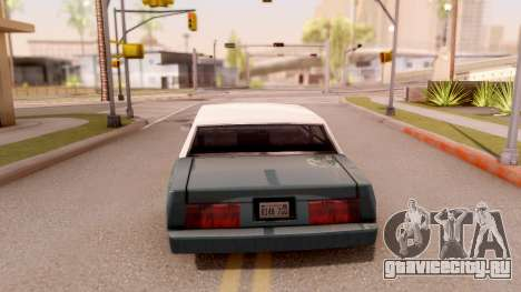 Tahoma Limited Edition для GTA San Andreas вид сзади слева