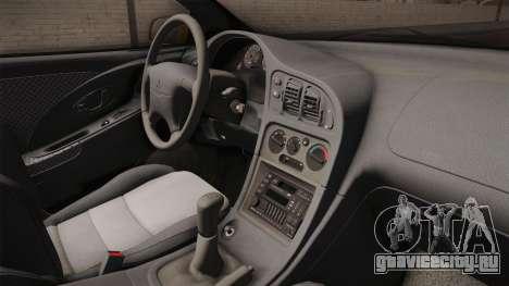 Mitsubishi Eclipse GSX 1995 HQLM для GTA San Andreas вид изнутри