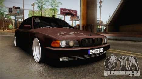 BMW 730i E38 Danker для GTA San Andreas вид справа