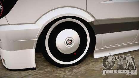 Mercedes-Benz Sprinter v3 для GTA San Andreas вид сзади