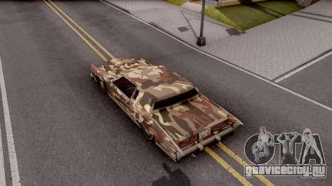 New Paintjob for Remington v2 для GTA San Andreas вид сзади