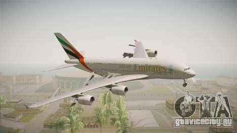 Airbus A380 Emirates Expo 2020 Dubai для GTA San Andreas