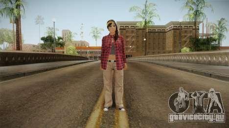 GTA 5 Vagos Chola Reskinned для GTA San Andreas второй скриншот