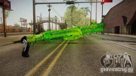 Green Weapon 3 для GTA San Andreas