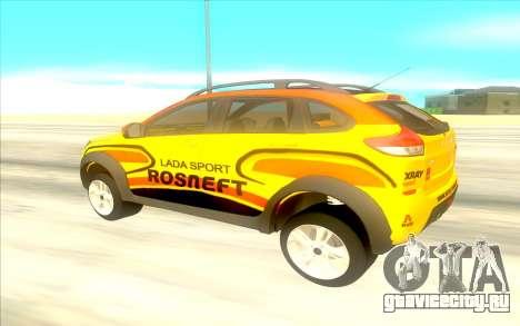 LADA X-Ray Rally для GTA San Andreas вид сзади слева