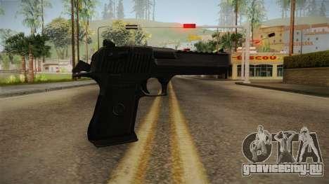 Desert Eagle Black для GTA San Andreas второй скриншот