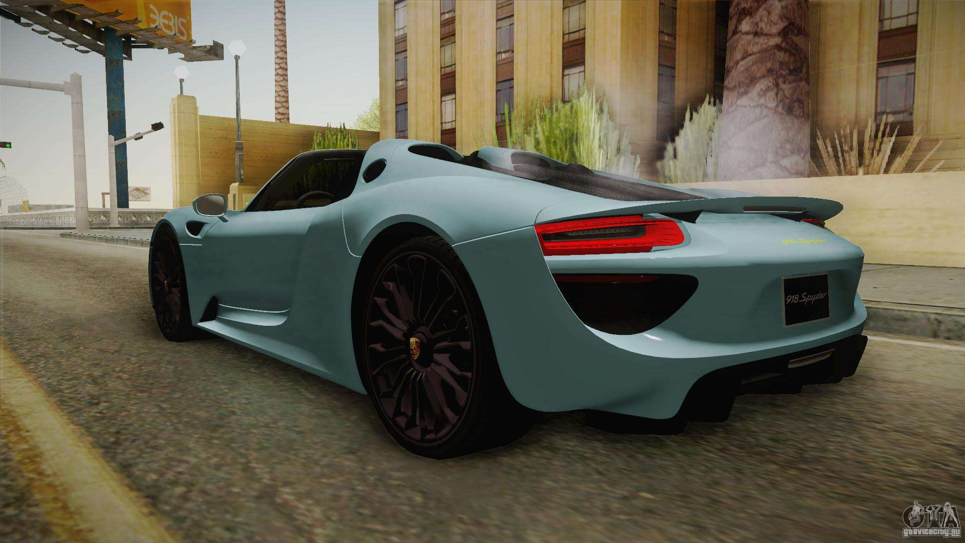 porsche 918 spyder gta san andreas. Black Bedroom Furniture Sets. Home Design Ideas