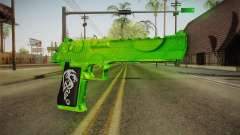 Green Weapon 1 для GTA San Andreas