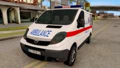 Opel Vivaro Serbian Ambulance