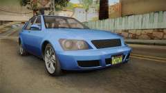 GTA 5 Karin Sultan SW для GTA San Andreas
