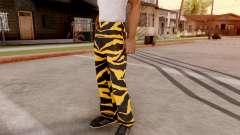 Тигровые штаны