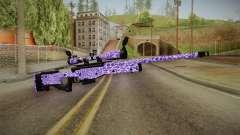 Tiger Violet Sniper Rifle для GTA San Andreas