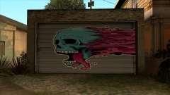 HD Рисунок на гараже