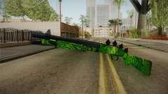Green Escopeta для GTA San Andreas