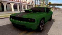 Dodge Challenger SRT-8 2010 Ben 10 Alien Swarm для GTA San Andreas