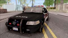 Ford Crown Vitoria High Speed Police