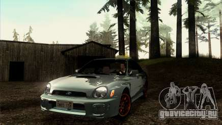 2001 Subaru Impreza WRX v 1.1 IVF [Tunable] для GTA San Andreas