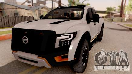 Nissan Titan Warrior 2017 для GTA San Andreas