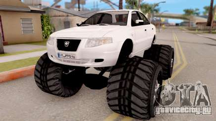 IKCO Samand Soren Monster для GTA San Andreas