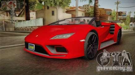 GTA 5 Pegassi Tempesta Spyder для GTA San Andreas