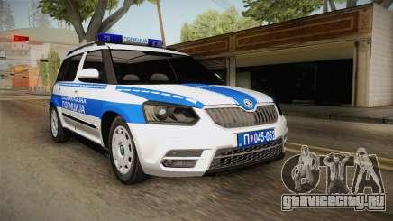 Skoda Yeti Serbian Traffic Police для GTA San Andreas