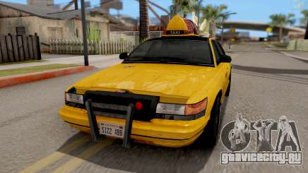 GTA IV Taxi для GTA San Andreas