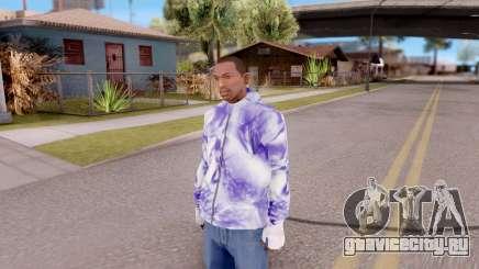 Фиолетовая толстовка для GTA San Andreas