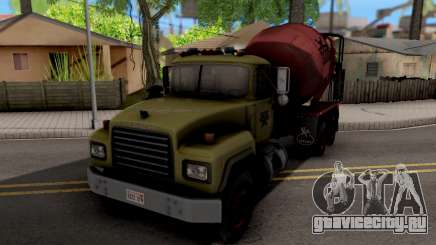 Mack RD690 Cement Mixer Truck 1992 для GTA San Andreas