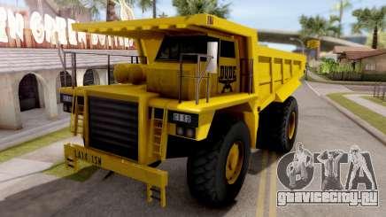 Realistic Dumper Truck для GTA San Andreas