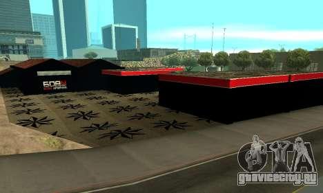 БПАН Армения гараж в SF для GTA San Andreas восьмой скриншот