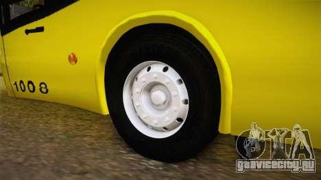 Niccolo 2250 El Rapido для GTA San Andreas вид сзади