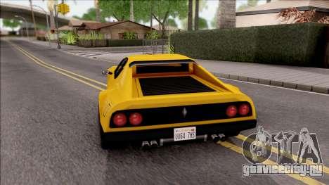 Cheetah 1976 для GTA San Andreas вид сзади слева