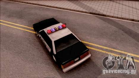 Vice City Police Car для GTA San Andreas вид сзади