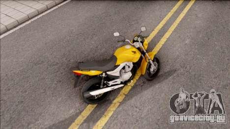 Honda Titan 150 Mix для GTA San Andreas вид сзади слева