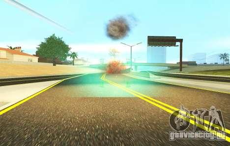 Новый прицел для автоматов и базуки для GTA San Andreas четвёртый скриншот